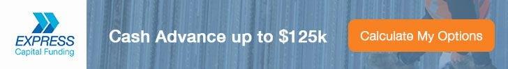 Cash Advance up to $125k