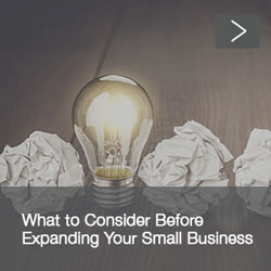 Expanding Small Business